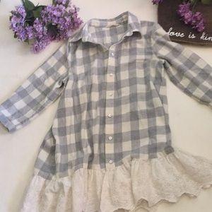 Soft surroundings flannel shirt
